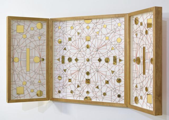 , 'Technological Mandala #128 - Perpetual nexus,' 2019, The Flat - Massimo Carasi