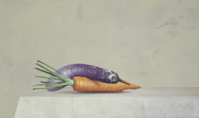 , 'Eggplant and Carrot,' 2015, Galerie Huit