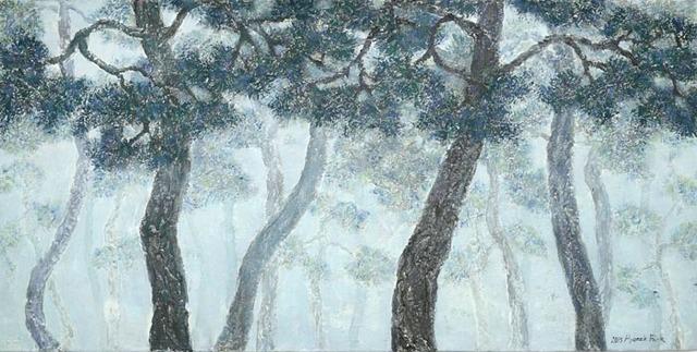 , 'The study of forest 15-2,' 2015, Galerie Artpark Karlsruhe