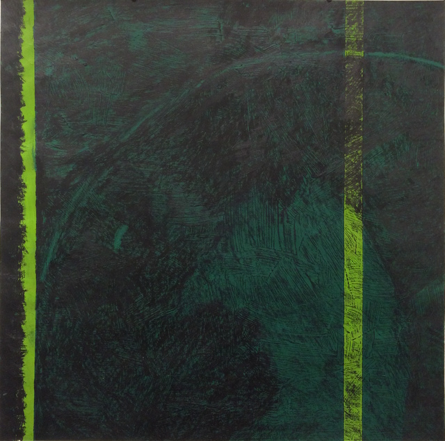 , 'Untitled Green,' 2015, InLiquid