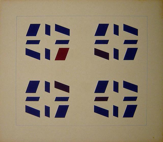 , 'Untitled (Metaesquema) ,' 1957, Sicardi Gallery