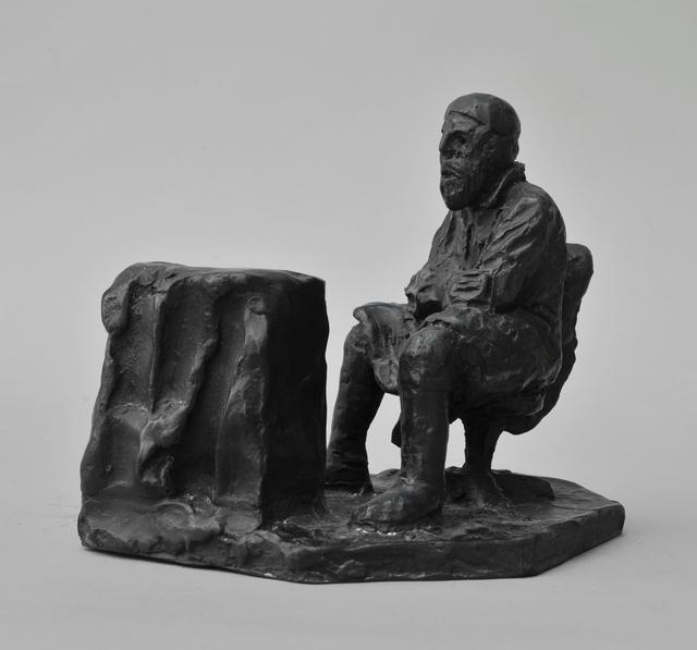 , 'Siddende Mand,' 2014, Galleri Susanne Ottesen