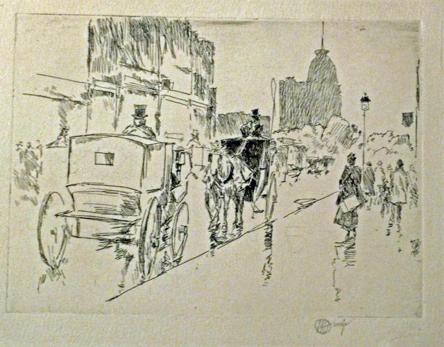 , 'UNION SQUARE,' 1896, Edward T. Pollack Fine Arts