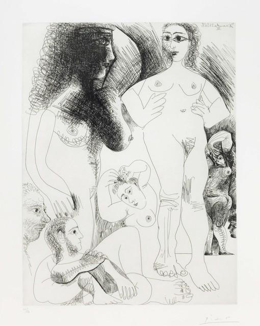 Pablo Picasso, 'Odalisques avec deux hommes rêvant, from La Série 347', 1968, Christie's