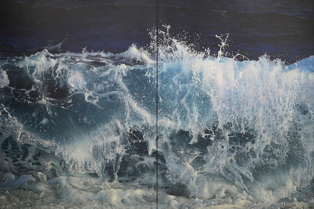 , 'Wave in the Light of the Moon (Diptych),' , Plus One Gallery