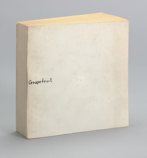 , 'Grapefruit,' 1964, The Museum of Modern Art