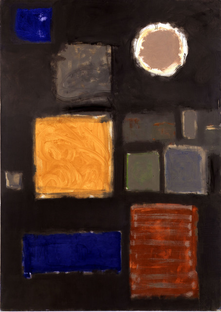 Patrick Heron, 'Big Grey - with Disc : June - September 1959', 1959, Waddington Custot