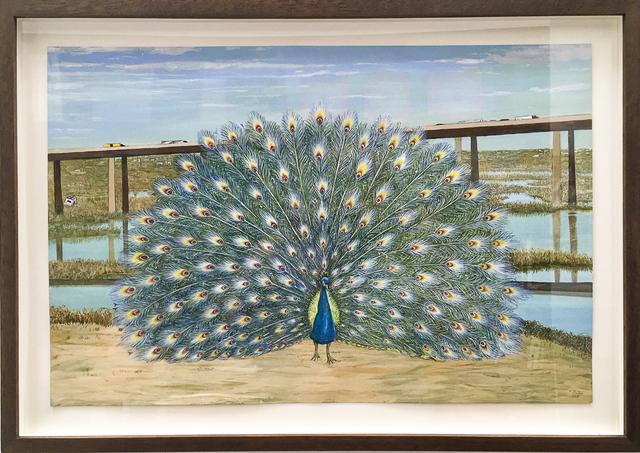 , 'Peacock,' 2015, Rosamund Felsen Gallery