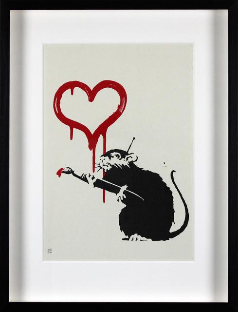Banksy, 'Love Rat', 2004, Gormleys Fine Art