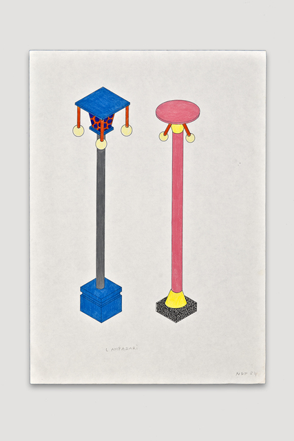 , 'Lampadari (Lamp Posts),' 1984, The Modern Archive