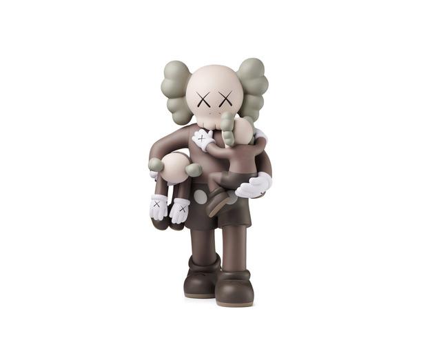 KAWS, 'Clean Slate (Brown)', 2018, Sculpture, Painted cast vinyl, with original box, artempus