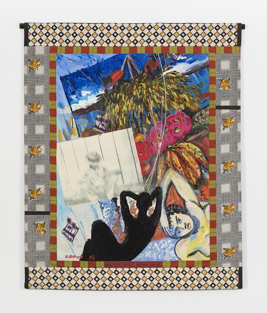 , 'Malcom X, Morley, Matisse and Me,' 1993, RYAN LEE