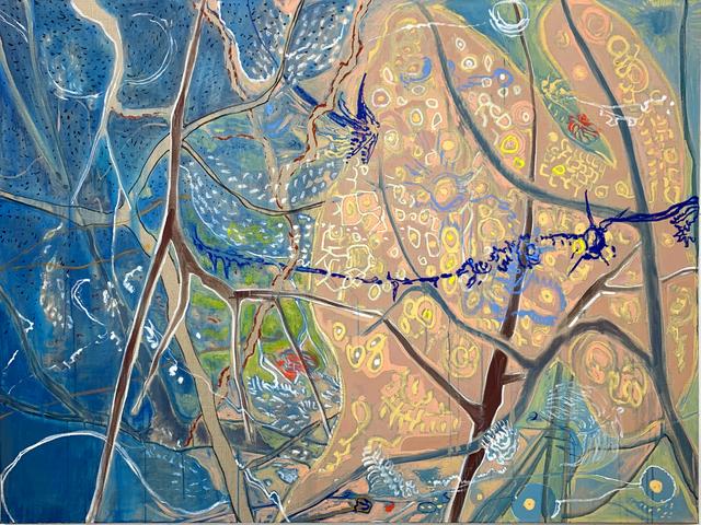Jim Thorell, 'Anemone kite', 2019, SETAREH GALLERY