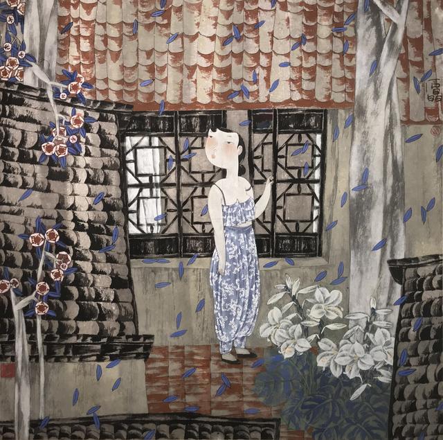 Shi Jing, 'Garden Flowers ', 1993, Illuminati Fine Art