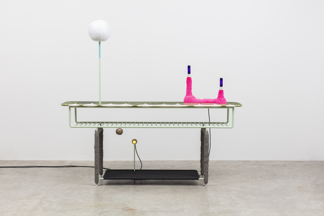 , 'Midway Console and Large White Custard,' 2018, Friedman Benda