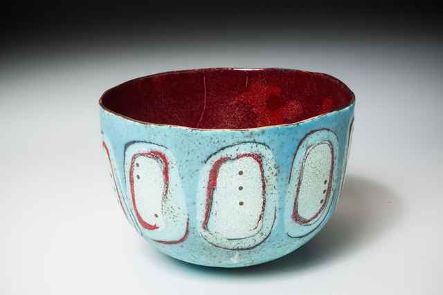 , 'Light Blue Scarf Bowl,' 2016, Mobilia Gallery
