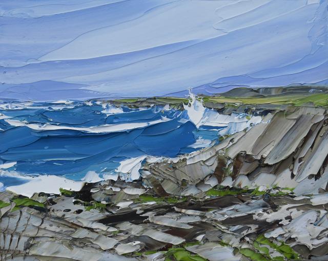 , 'Atlantic Waves, Saligo,' 2017, Thackeray Gallery