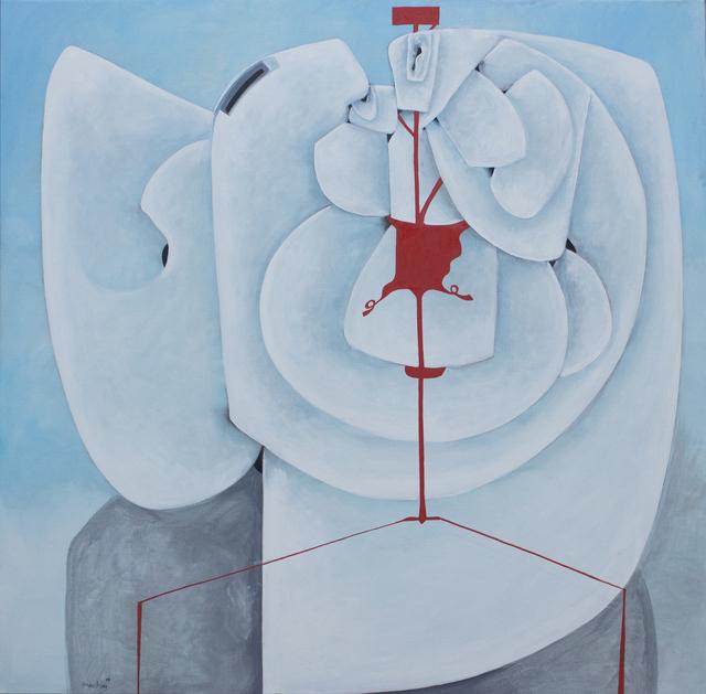 , 'Contrapunt 14,' 2017, Matthew Liu Fine Arts