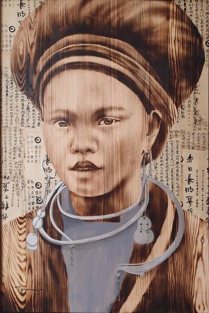 , 'Highland Girl II,' 2020, ArtBlue Studio