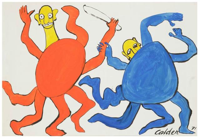 , 'Têtes Jaunes,' 1971, Galerie Boulakia