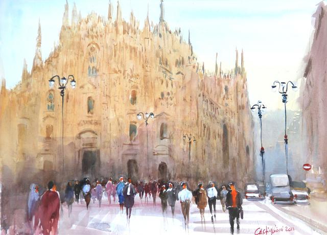 Claudio Castiglioni, 'Gente di Milano', 2012, Ambrosiana Casa d'Aste