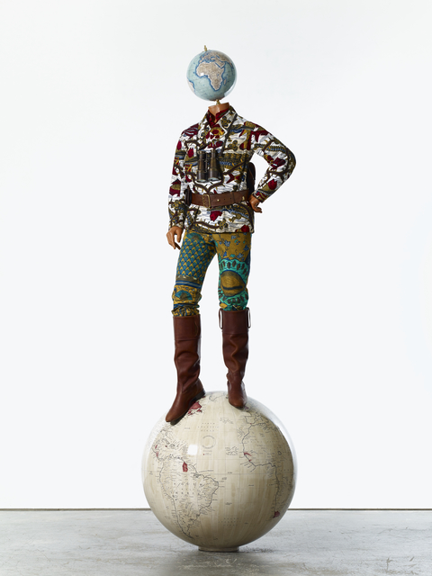 , 'Post-Colonial Globe Man,' 2018, Goodman Gallery
