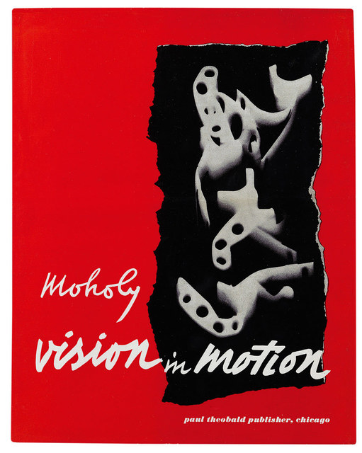 , 'Cover and design for Vision in Motion (Paul Theobald),' 1947, Guggenheim Museum
