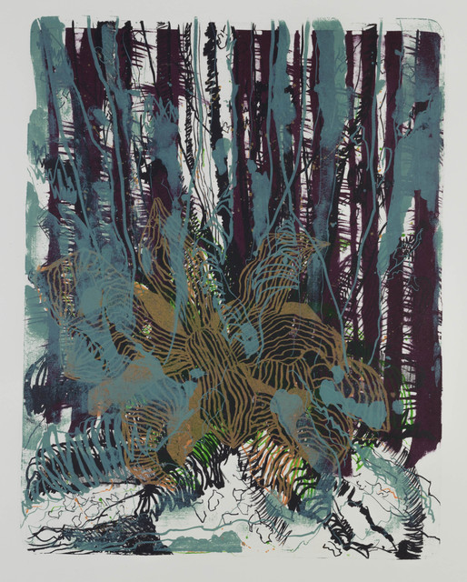 , 'wald X-II,' 2015, galerie burster