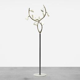 , 'floor lamp,' ca. 1950, Wright: Art + Design (February 2017)