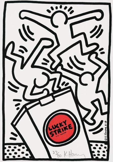 , 'Lucky Strike #4,' 1987, Hamilton-Selway Fine Art