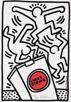 Keith Haring, Lucky Strike #4