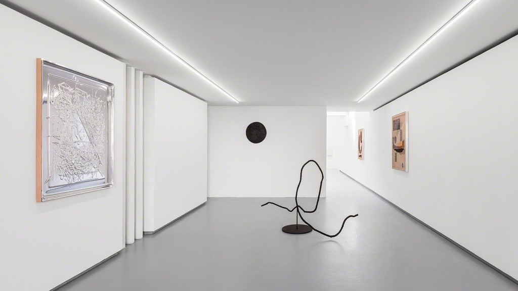 "Exhibition view, ""Mid-Century Consensus"" a solo show by David Renggli. © Photo: Grégory Copitet - Courtesy of the artist and Valentin, Paris."