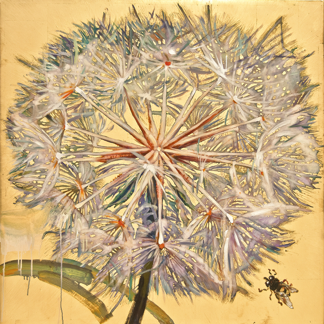 , 'Dandelion with Bee,' 2016, Turner Carroll Gallery