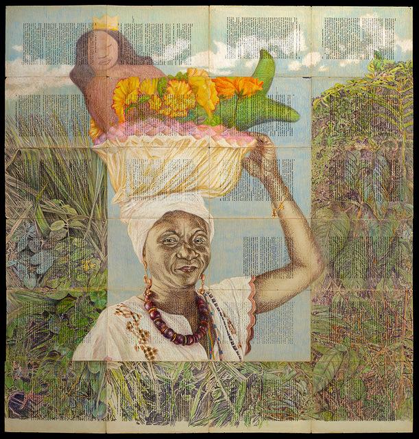 , 'Pilgrimage to Yemenja,' 2017, Gallery 38