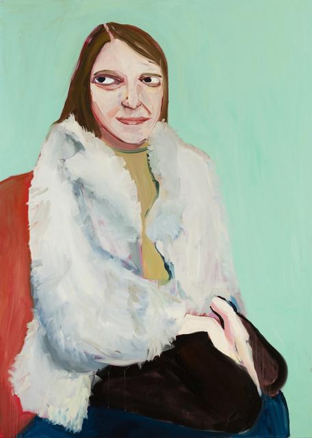 , 'Moll in a Fur Jacket,' 2016, Galerie Forsblom