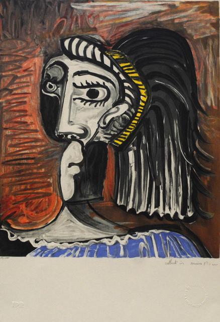 Pablo Picasso, 'Tete de Femme', 1979-1982, Golden Eagle Art Gallery