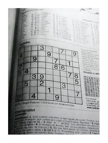 , 'Sin Título (Sudoku I,II,III),' 2013, Rosa.Santos