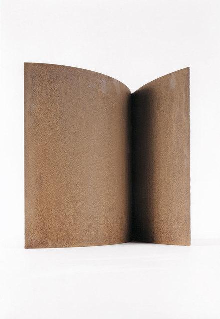 , 'Modell für eine Skulptur aus Corten-Stahl - Zwei Halbbögen,' 1992, Galerie Kellermann