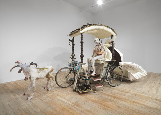 , 'The Goat Cart,' 2013, Postmasters Gallery