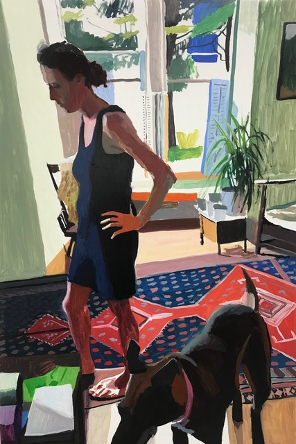 , 'Carrie and Dutchess,' 2018, Lyons Wier Gallery