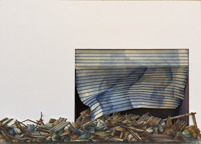 Vanni Cuoghi, 'Monolocale 91 (Typhoon 17) 一居室 91 (颱風 17)', 2019, Rossi & Rossi