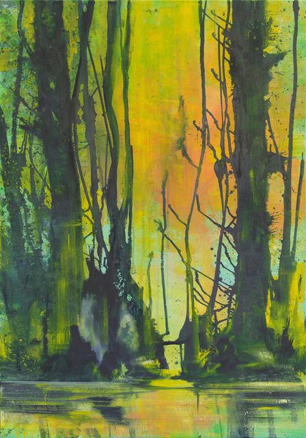 , 'Reflexion über See im Licht I,' 2010/17, Galerie Jahn