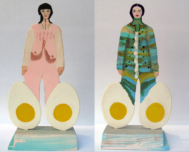 , 'Egg Ladies,' 2013, Wilding Cran Gallery