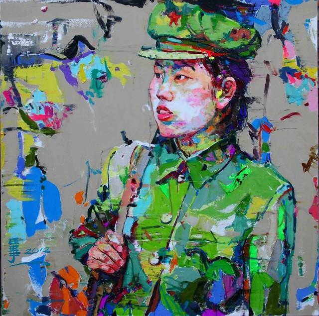 , '是我的想象12 ,' 2012, Ode to Art