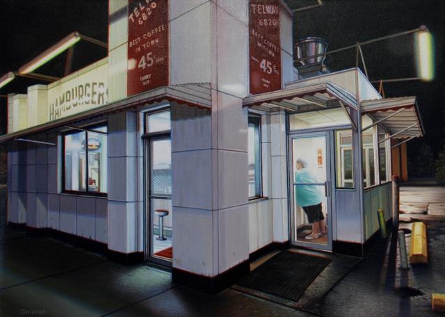 , 'Telway Hamburgers,' 2019, Louis K. Meisel Gallery