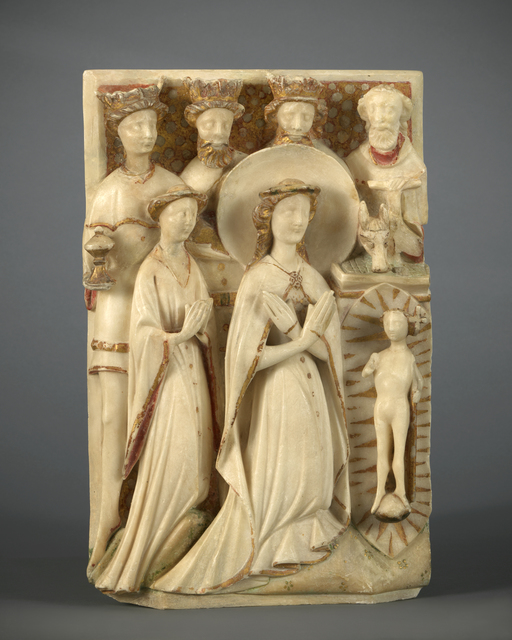 , 'Relief with the Adoration of the Magi,' 15th century, Mullany