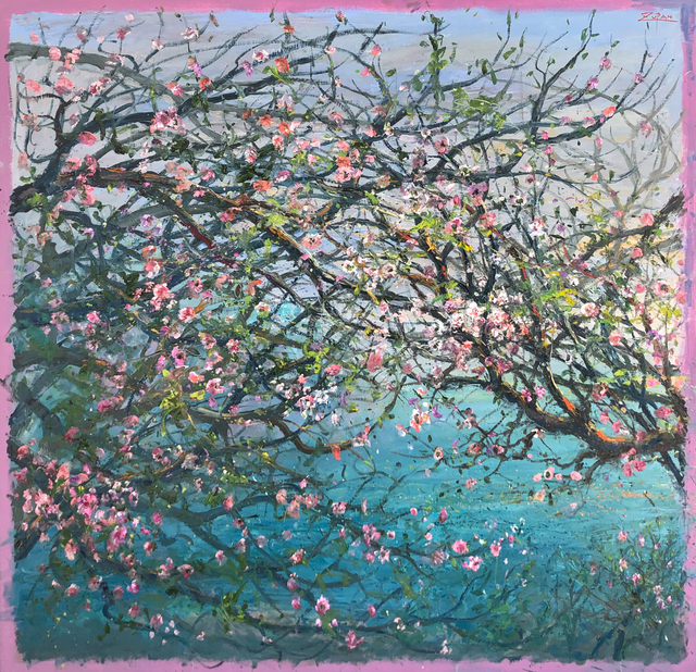 Bruno Zupan, 'Almond Branches Over the Sea', 2019, Galerie d'Orsay