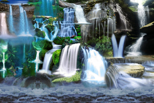, 'Visual Orgasms 'Waterfalls',' 2013, Transfer Gallery