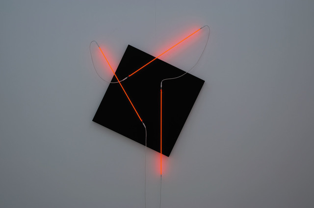 , 'Néons 3D : 60°-90°-35°,' 2014, Galerie Gisèle Linder