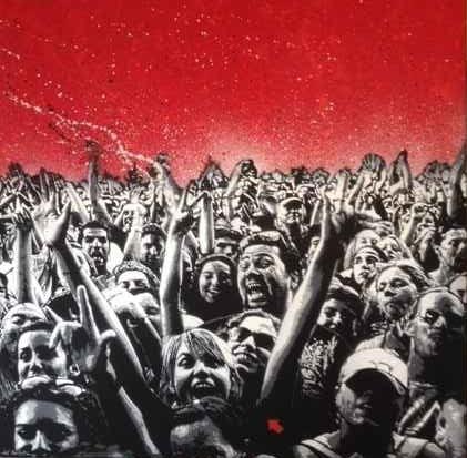 Jef Aérosol, 'THE CROWD ', 2013, Gallery 32